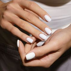 Manicure And Pedicure, Beauty Nails, Nail Polish, Nail Art, Arm, Goals, Instagram, Fashion, White Colors