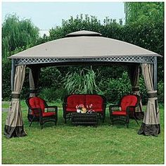 Wilson Fisher 11 X Pop Up Canopy With Netting Lots Outdoor Entertaining In 2018 Pinterest Tent And