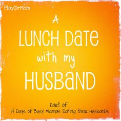 lunch date advice
