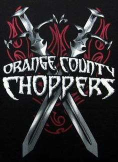 Orange County Choppers - dual swords back print
