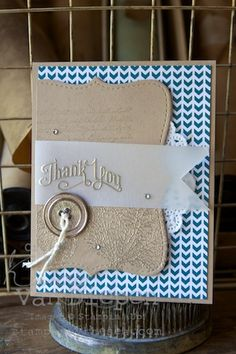 Perfectly Penned, Stampin' Up! By the Tide Kimberly Van Diepen, Stampin' Up!