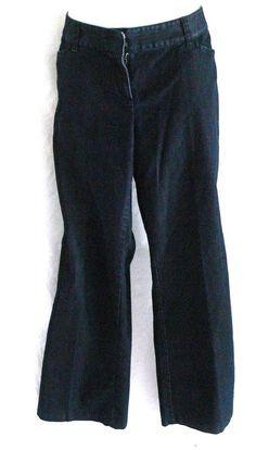 "J JILL Women's Dark Petite Jeans Size 10 P Inseam 27"" #JJill #StraightLeg"