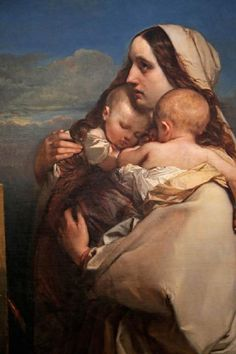 Le malheur (The Unhappy Mother) LOUİS GALLAİT