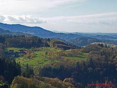 Schwarzwald / Sasbachwalden Panorama Schönbüch im Herbst  Germany /Black Forest / Sasbachwalden Autum