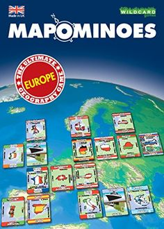 $15 ...MAPOMINOES - Europe Fred Distribution