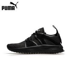 separation shoes e510f 982b7 Original PUMA TSUGI BLAZE EVOKNIT Unisex Breathable Running Shoes