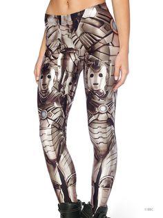 Cyberman Leggings - Black Milk Clothing (M)