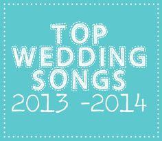 Wedding Songs Of 2013