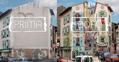 Artista Francese trasforma Grigi Edifici Cittadini in splendide Opere d'Arte