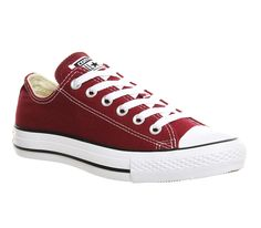Converse All Star Low Maroon Canvas - Unisex Sports 1ce97e8264
