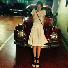 "* ""i love white dress for the summer"" Japan Fashion, Girl Fashion, Fashion Outfits, Kiko Mizuhara Style, Street Style Summer, Japanese Models, Tee Dress, White Style, Pretty Outfits"