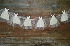 Paper Bride Gown Banner