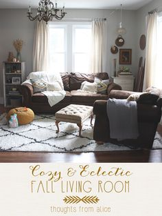 Thoughts from Alice: Spring 2014 {Partial} Living Room Reveal
