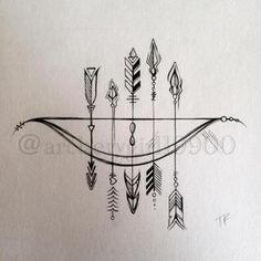Estampa - Arrow - camiseta