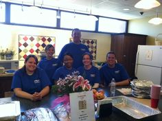 Dollar Bank Volunteers Cooking up a Storm