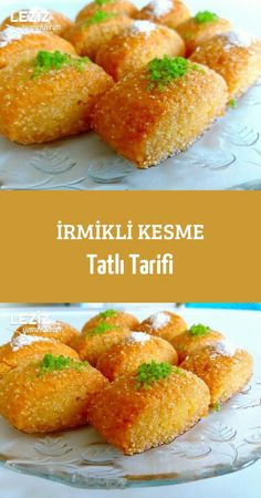 İrmikli Kesme Tatlı Tarifi - Leziz Yemeklerim - Çorba Tarifleri - Las recetas más prácticas y fáciles Steak Recipes, New Recipes, Dinner Recipes, Food Categories, Turkish Recipes, Cheesecake Recipes, Food And Drink, Easy Meals, Yummy Food