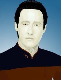 Star Trek Data by Maligris.deviantart.com on @deviantART