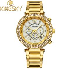 16.71$  Buy here - http://aliix1.shopchina.info/go.php?t=32715696522 - montre femme Simple Casual Quartz-watch Exquisite Watch Japan Movement Wristwatch Quartz reloj mujerfor Women Watches Gold K1136 16.71$ #buyonlinewebsite