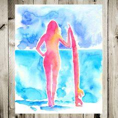 Surfer girl by Kate Shephard