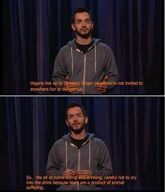 Hilarious Memes Vegan fun fact...