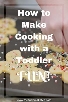 Here i share some really simple things you can do in the kitchen to get your toddler or child involved with the cooking!