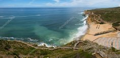 Baixar - Praia de Ribeira d'Ilhas na ericeira, portugal — Imagem de Stock #53296989