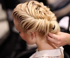 Beautiful hair do Older Women Hairstyles, Up Hairstyles, Pretty Hairstyles, Braided Hairstyles, Wedding Hairstyles, Bridal Hairstyle, Braided Updo, Hair Inspo, Hair Inspiration