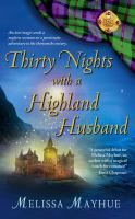 Thirty Nights with a Highland Husband by Melissa Mayhue.  Scotland 1272- Connor, a descendant of the Fae, is a warrior who lives for honor & duty.  Denver 2007, Caitlyn is having a really bad day; she just discovered her fiance with another woman.  Imagine her surprise when she puts on some sexy lingerie & an antique pendent and Connor appears in her bedroom!   Nicole