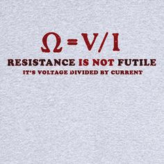 Resistance is NOT Futile... Funny Novelty T Shirt Z12167