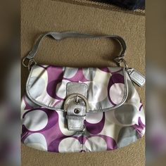Authentic Coach purse, open to offers! :) great condition Coach Bags Shoulder Bags