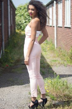 **SUMMER FAVOURITE** Our brand new Laura Bow Back Jumpsuit is absolutely stunning for this summer and is perfect for any occasion!  Visit our website now to get yours- www.lovepinkboutique.com/new/laura