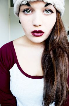 I want to find this color lipstick...And maybe one that's a little more purple.