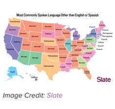 Funny pictures about Most Common Language By State Besides English or Spanish. Oh, and cool pics about Most Common Language By State Besides English or Spanish. Also, Most Common Language By State Besides English or Spanish photos. Pays Francophone, E Mc2, Thinking Day, Us Map, Sign Language, Second Language, Spanish Language, Arabic Language, Foreign Language
