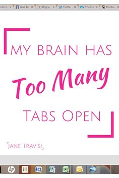 Feeling stressed? Take a read of this, and close down a couple of those tabs! Stress quote