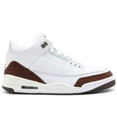 size 40 c1030 1f693 BestAir Jordan 3 Retro Mens Basketball Shoes White Mocha A03010