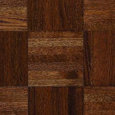 Natural Oak Parquet Gunstock 5/16 In. Thick X 12 In. Wide X 12 In. Length Hardwood  Flooring (25 Sq. Ft. / Case)
