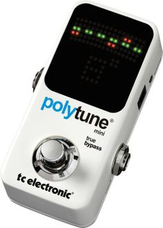 A great little tuner that is about 1/3 smaller than a standard Boss style pedal.  A great little tuner from TC Electronic.
