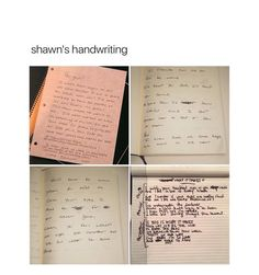 when shawns writing is more beautiful than me