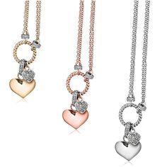 Victoria Townsend Heart Charm Necklace - Jasco Designs - Product Search - JCK Marketplace