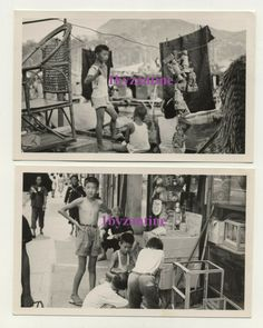 old Hong Kong St Boat vendors 1960 x2 Photographs Harbour Chinese Postcard size for sale on ebay Uk by 1byzantine China Hong Kong, Postcard Size, The Row, Photographs, Asia, Chinese, Boat, Plant Bed, Photos