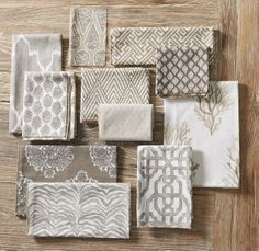 Lacefield Bisque Textile Collection www.lacefielddesigns.com
