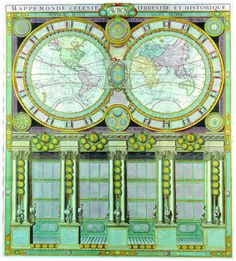 World Map Original Vintage Print Showing Standard Time Zones - Benghazi time zone vs us time zone map