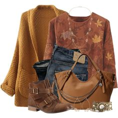 """Falling Leaves"" by brendariley-1 on Polyvore"