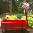 Ana White | Beautiful Wood Wagon for Children - Industrial Style - DIY Projects