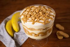 Peanut butter lovers will DIE over this Peanut Butter Banana PuddingDelish