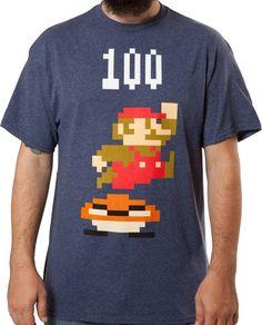 Jumping Mario Shirt: Video Games Nintendo, Super Mario Bros T-shirt