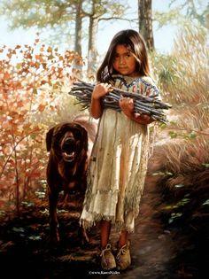 Native American Fine Art By