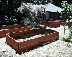 SherWords: For Ruth: Truly Overdone Raised Beds