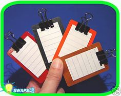Girl Scout Swaps | Mini Clipboard Scout SWAPS Girl Craft Kit - Swaps4Less for sale