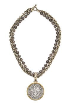 """French Kande """"Forgeron"""" Necklace"""